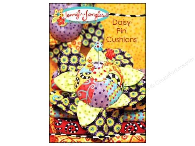 Jennifer Jangles Daisy Pin Cushions Pattern