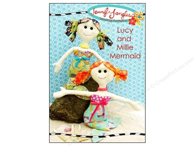 Jennifer Jangles Lucy And Millie Mermaid Pattern
