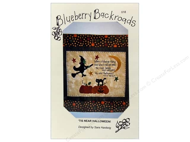 Blueberry Backroads Tis Near Halloween Pattern