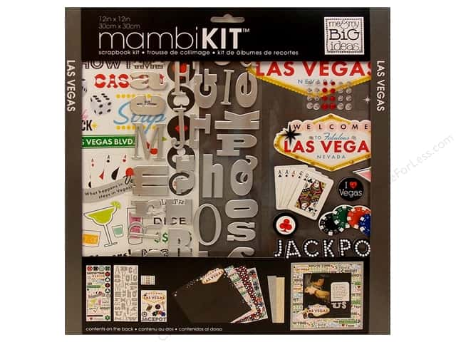 "Me&My Big Ideas Kit Scrapbook 12""x 12"" Las Vegas"