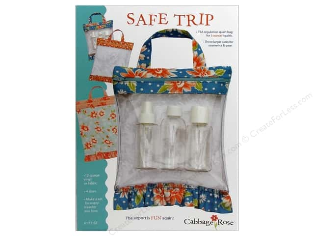 Cabbage Rose Safe Trip Pattern