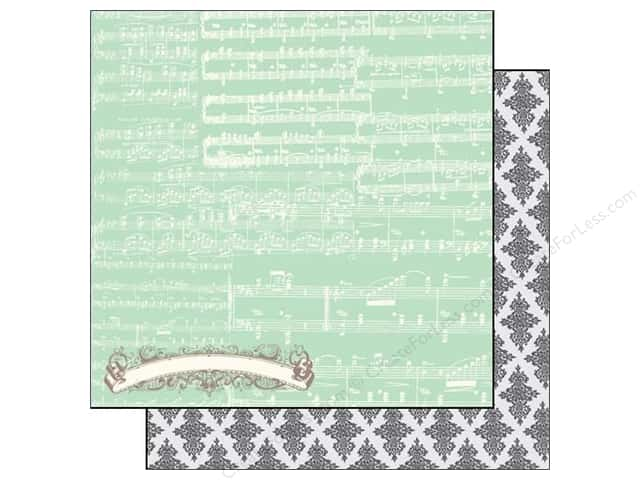Echo Park 12 x 12 in. Paper Everyday Eclectic Collection Music Notes (25 sheets)