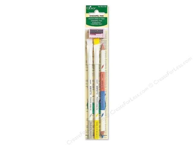 Clover Charcopel Fabric Marking Pencils 3 pc. Fine