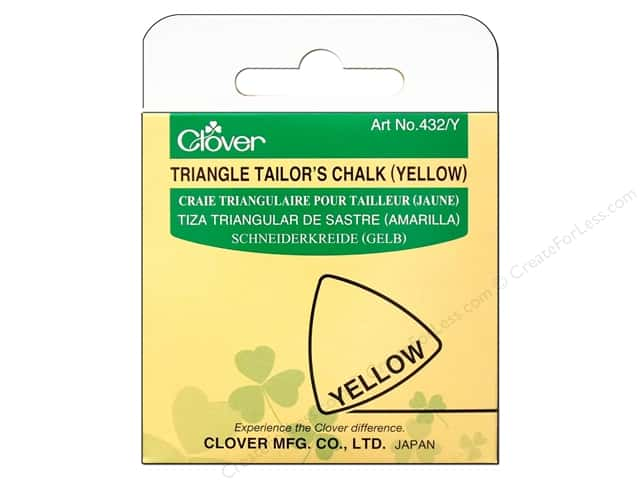 Clover Triangle Tailor Chalk Yellow