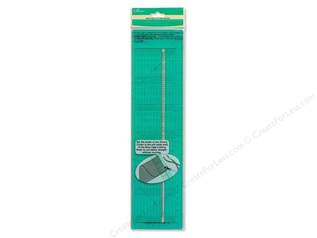 Clover Ruler Bias Tape Cutting Ruler