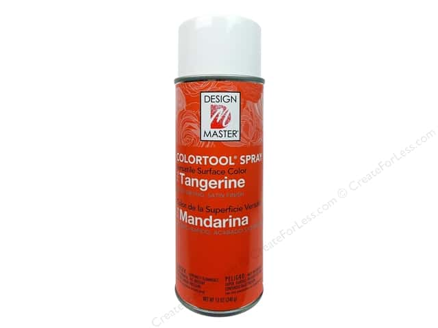 Design Master Colortool Paint Tangerine 12oz