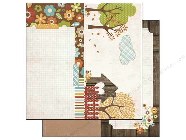 Simple Stories Paper 12 x 12 in. Harvest Lane Page Elements (25 pieces)