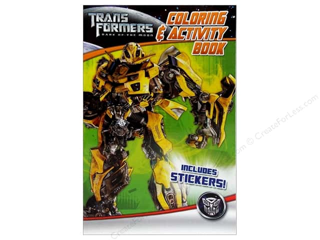 Bendon Coloring & Activity Book with Stickers Transformers 3 (3 pieces)