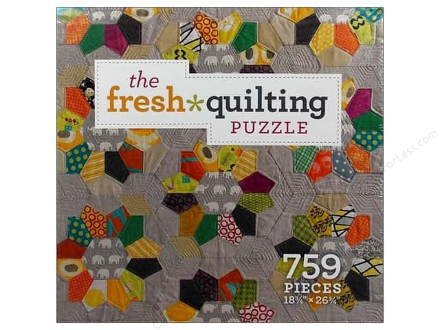 Interweave Puzzle Fresh Quilting