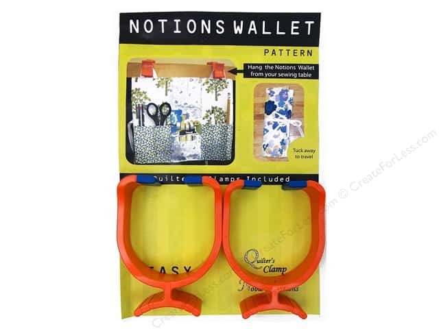 Noble Notions Notions Wallet Clamps & Pattern