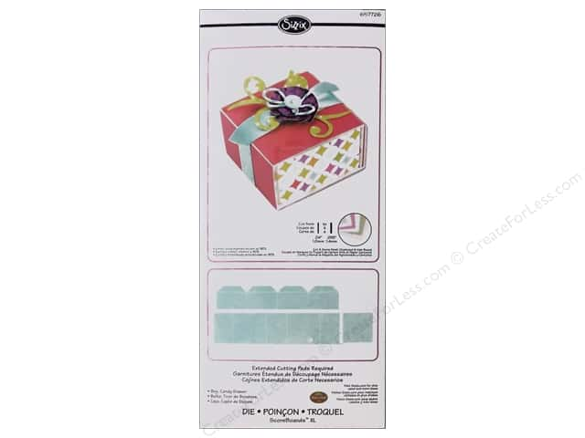 Sizzix Dies Eileen Hull ScoreBoards XL Box Candy Box