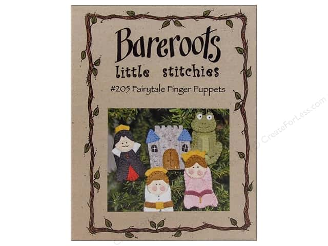 Bareroots Little Stitchies Fairytale Finger Puppets Pattern
