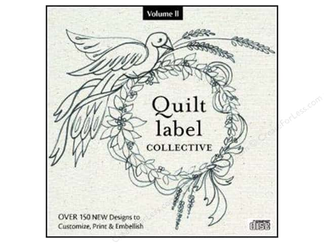 C&T Publishing Quilt Label Collective CD Vol II