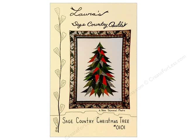 Laura's Sage Quilts Christmas Tree Pattern