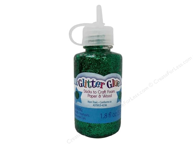 Sulyn Glitter Glue 1.8oz Kelly