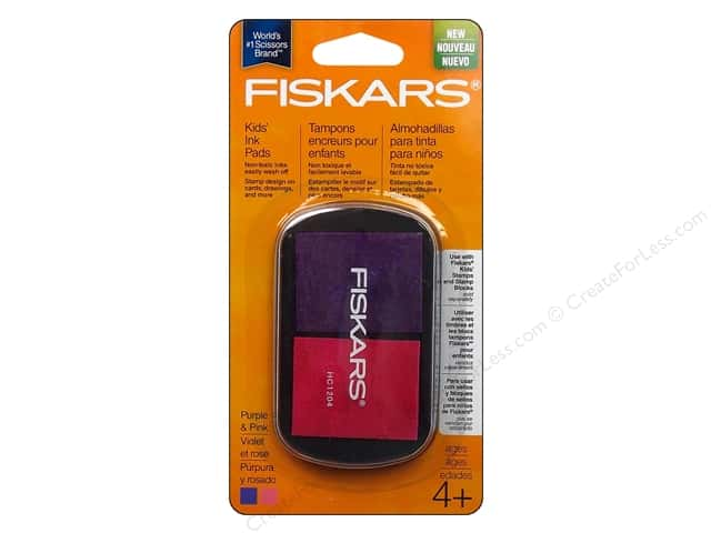 Fiskars Kids Ink Pads Purple/Pink
