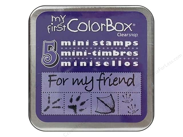 ColorBox My First Mini Stamps Flutters