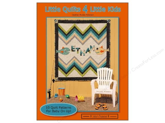 Anka's Treasures Little Quilts 4 Little Kids Book