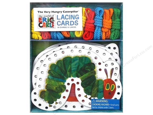 Chronicle The Very Hungry Caterpillar Lacing Cards