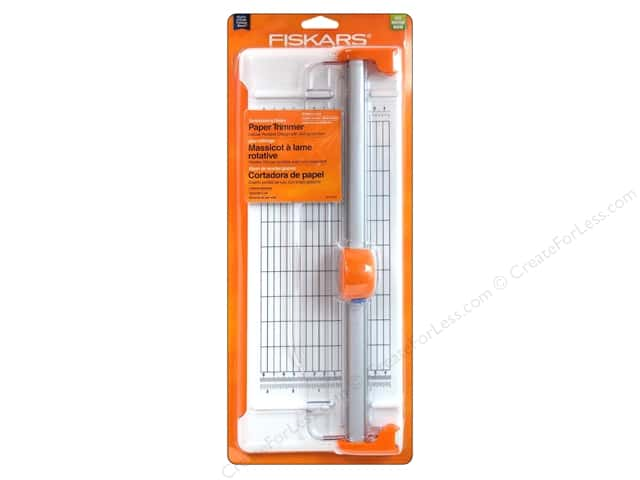 Fiskars Scrapbooking Rotary Paper Trimmer 12 in.
