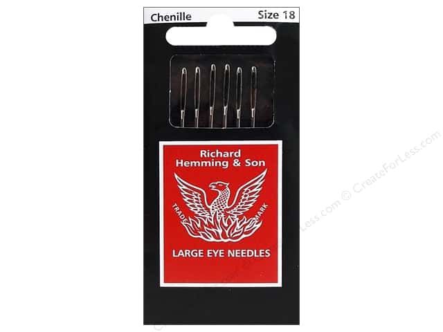 Hemming Needles Chenille Size 18 6pc (3 packages)