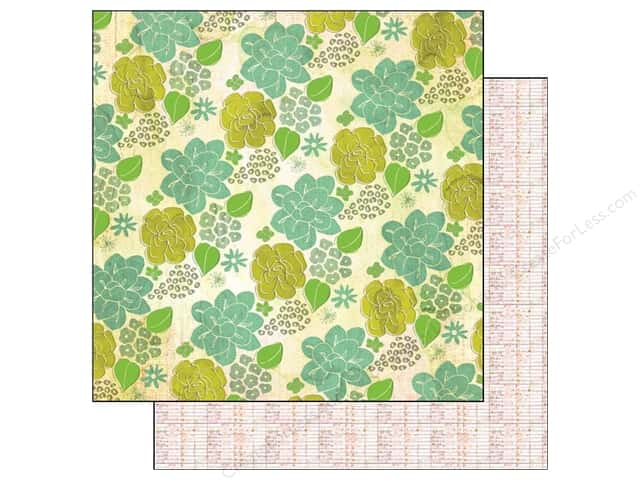 Crate Paper 12 x 12 in. Paper Acorn Ave Almond Grove (25 sheets)