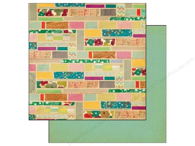 Crate Paper 12 x 12 in. Acorn Ave Pistachio Market (25 pieces)