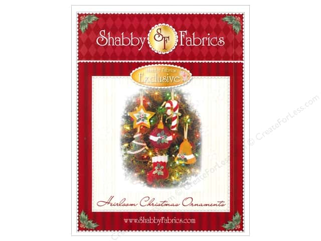 Shabby Fabrics Heirloom Christmas Ornaments Pattern