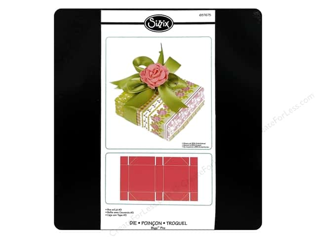 Sizzix Bigz Pro Die Box With Lid #3 by E.L. Smith