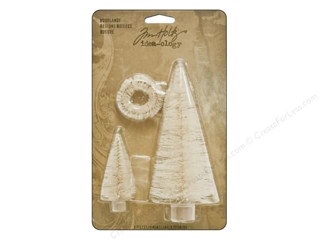 Tim Holtz Idea-ology Woodlands Seasonal 3pc