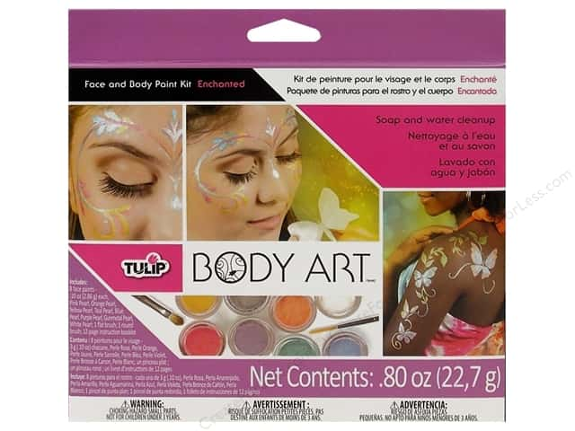 Tulip Body Art Paint Kit Enchanted