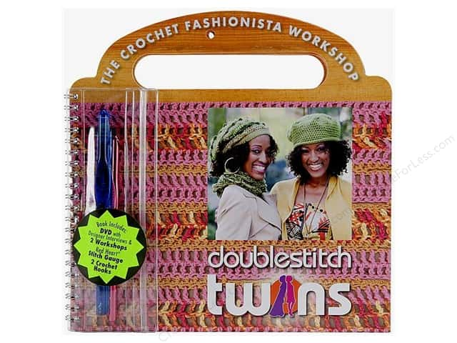 Coats & Clark The Crochet Fashionista Workshop Kit DVD Book
