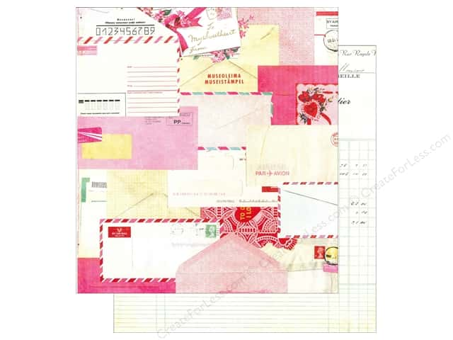 Crate Paper 12 x 12 in. Paper Fourteen Valentine (25 pieces)
