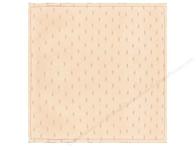 "Making Memories Paper 12""x 12"" Millinery Net Oval Dot Pink (12 pieces)"
