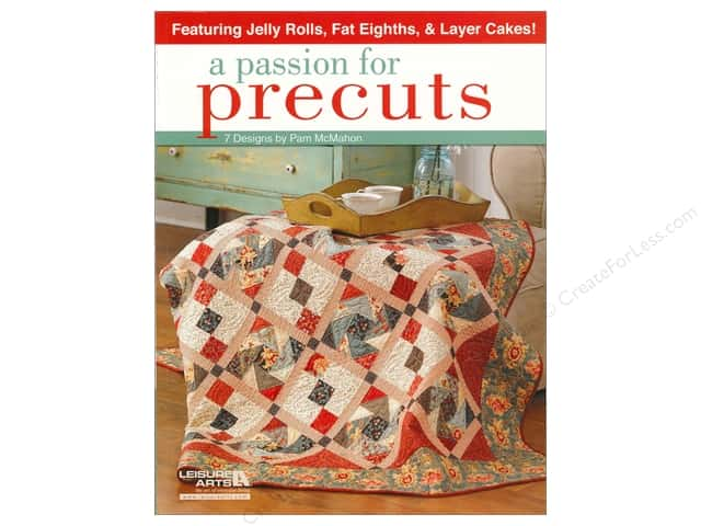 Leisure Arts  A Passion For Precuts Book
