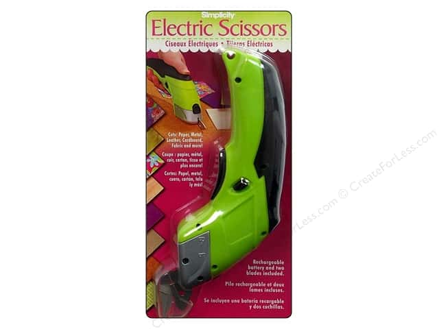 Simplicity Scissors Electric With Rechargeable Battery