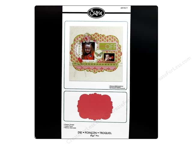 Sizzix Bigz Pro Die Frame Ornate by E.L. Smith