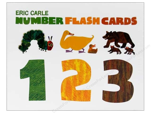 Chronicle Eric Carle Number Flash Cards