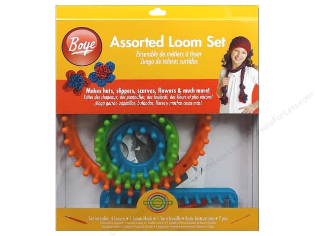 Boye Loom Knitting Assorted Set