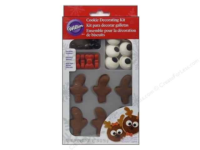 Wilton Edible Decorations Cookie Kit Reindeer
