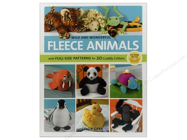 Creative Publishing Wild And Wonderful Fleece Animals Book