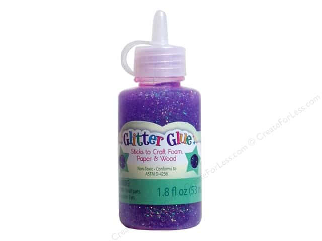 Sulyn Glitter Glue 1.8oz Sparkly Grape