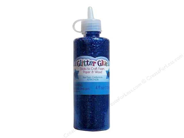 Sulyn Glitter Glue 4oz. Royal Blue