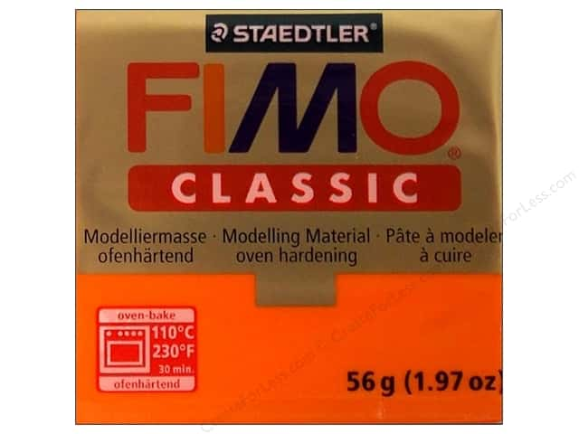 Fimo Classic Clay 56gm Orange