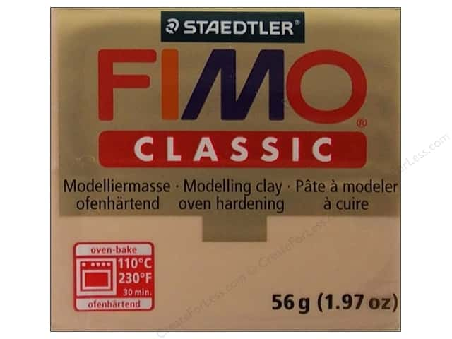 Fimo Classic Clay 56gm Dark Flesh