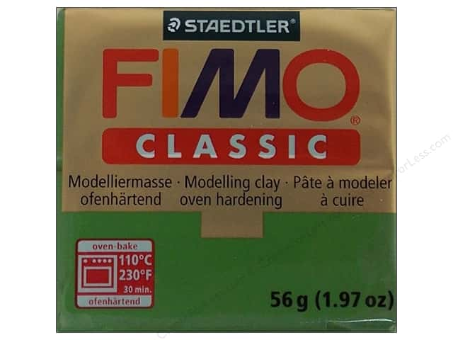 Fimo Classic Clay 56gm Leaf Green