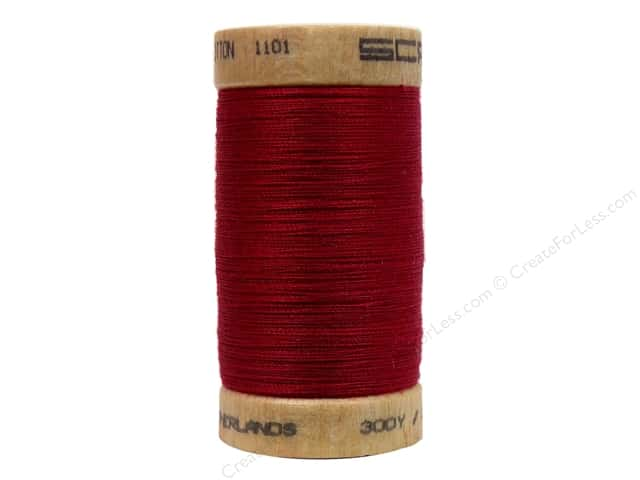 Scanfil Organic Cotton Thread Burgundy