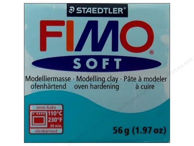 Fimo Soft Clay 2 oz. Peppermint