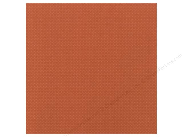 Bazzill 12 x 12 in. Cardstock Dotted Swiss #375 Clay 25 pc.