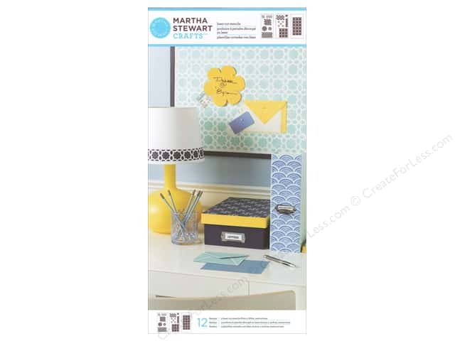 Martha Stewart Stencils by Plaid Geometric Pattern